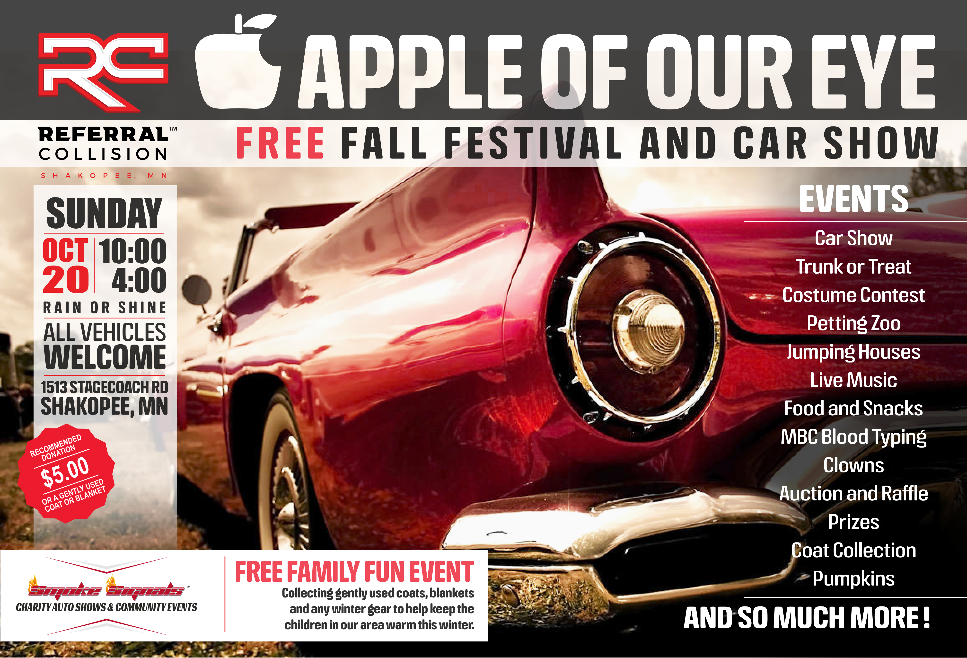 Apple of Our Eye Car Show and Fall Fesitval