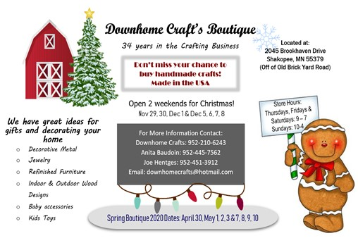 Downhome Craft's Boutique