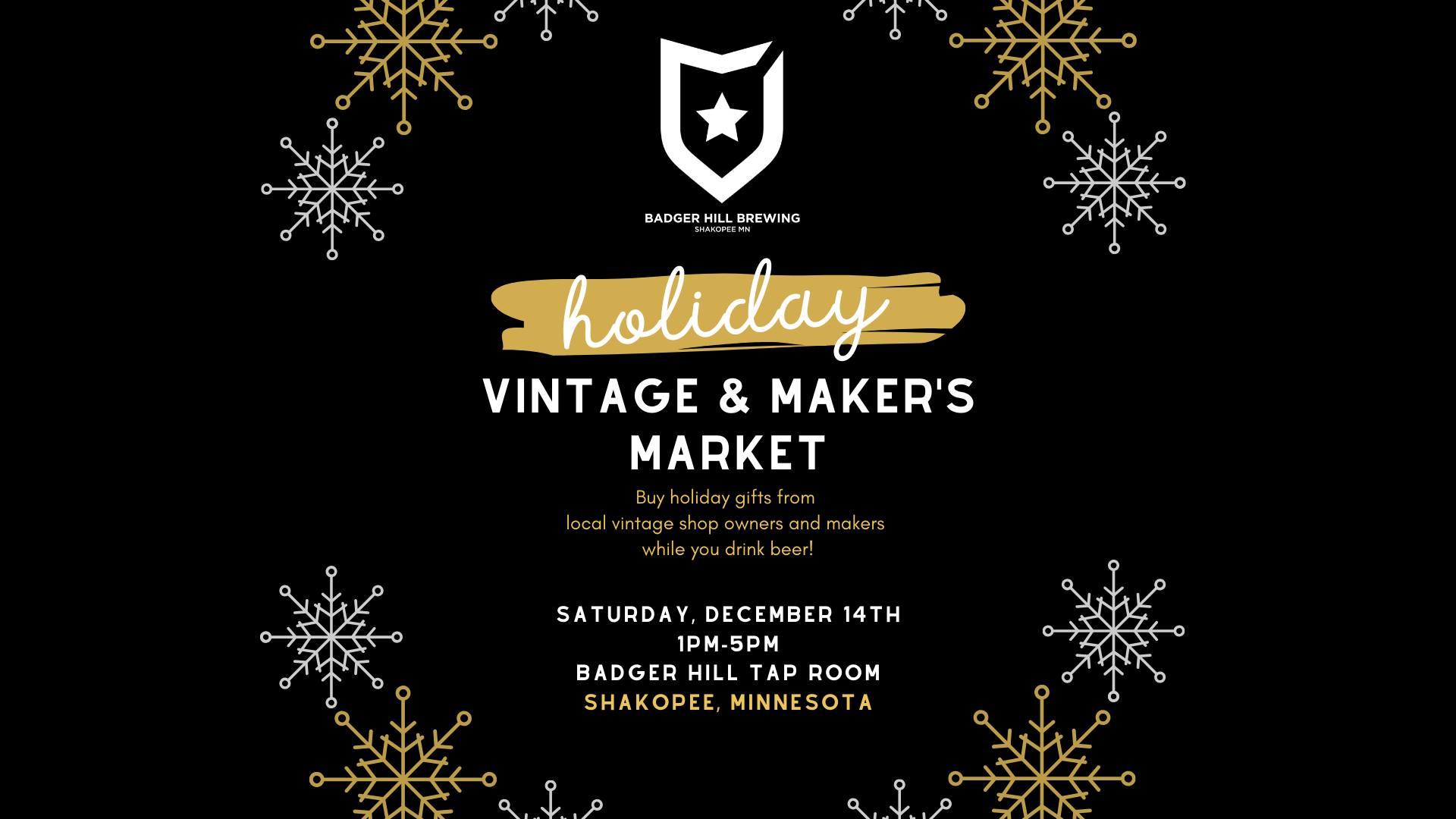 Holiday Vintage & Maker's Market