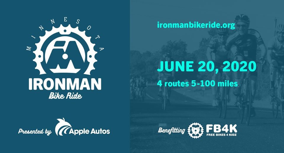 2020 Minnesota Ironman Bike Ride