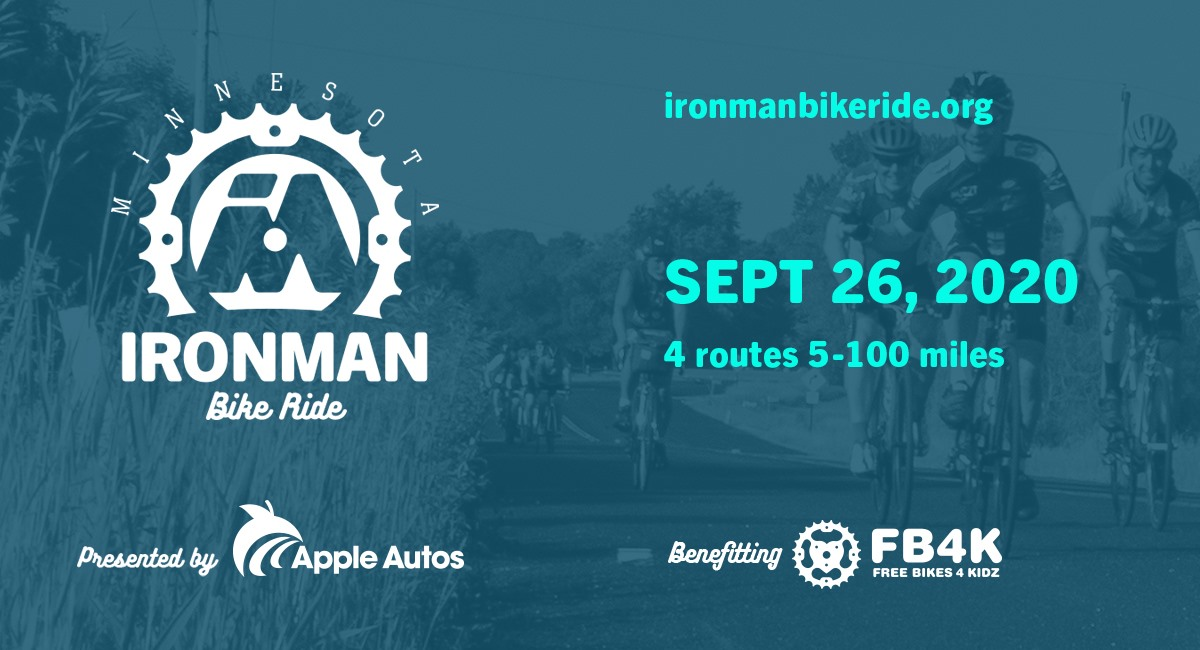 2020 Minnesota Ironman Bike Ride