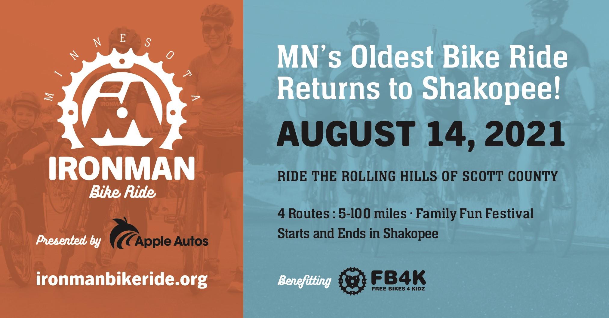 2021 Iron Man Cycling Ride