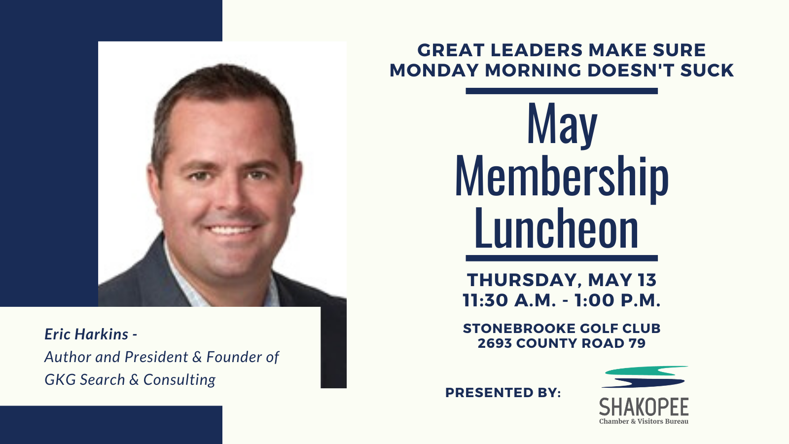 May Member Luncheon